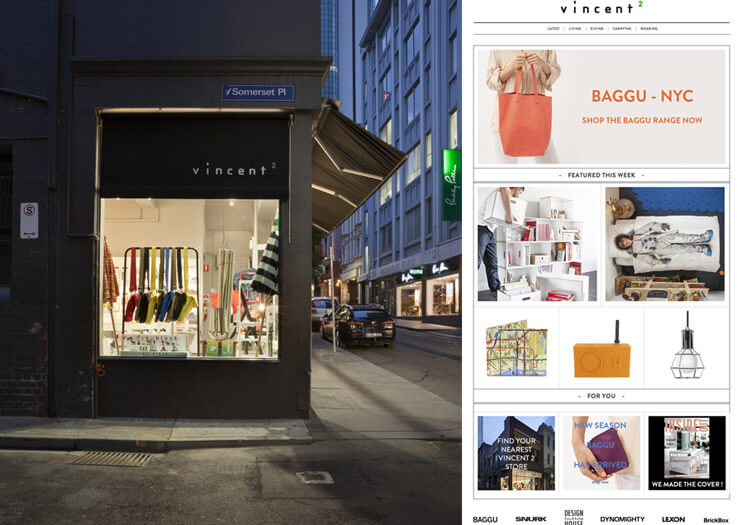 Vincent 2 Little Bourkes St Melbourne Store Website Est Magazine