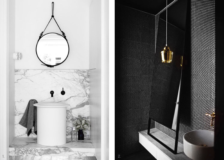 Bathrooms | Lather up the luxe | Est Magazine |Design Hecker Guthrie | Photography © Derek Swalwell