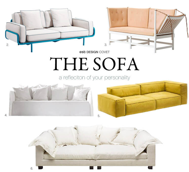 Design Covet | The Sofa | Est Magazine