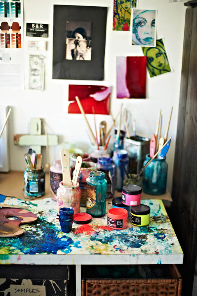 Artist Megan Weston | Bold and Beautiful | PHOTO © Nikole Ramsay | Est Magazine