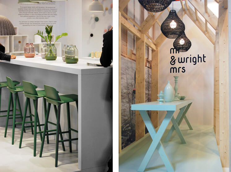 Muuto Mr Mrs Wright Maison et Object Paris 2013 © Brad Turner Est Magazine