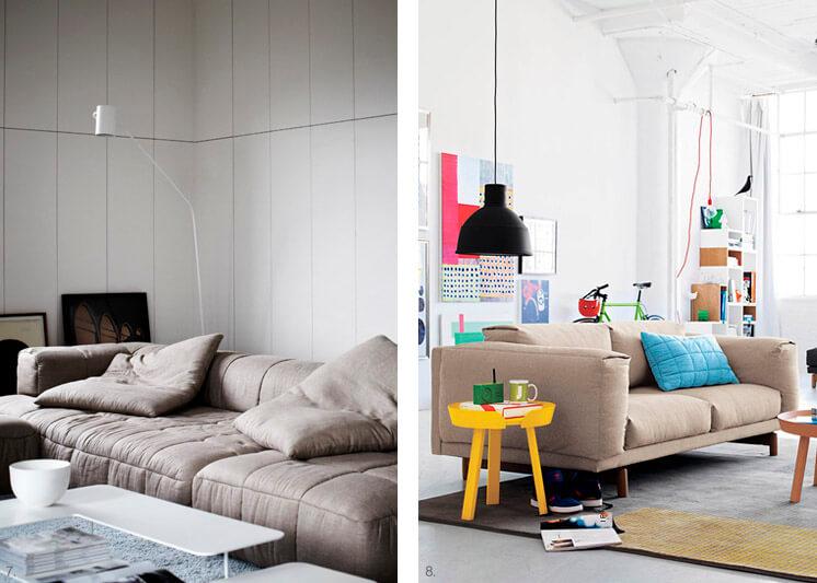 Strips Sofa Arflex | Rest Sofa Muuto | Est Magazine