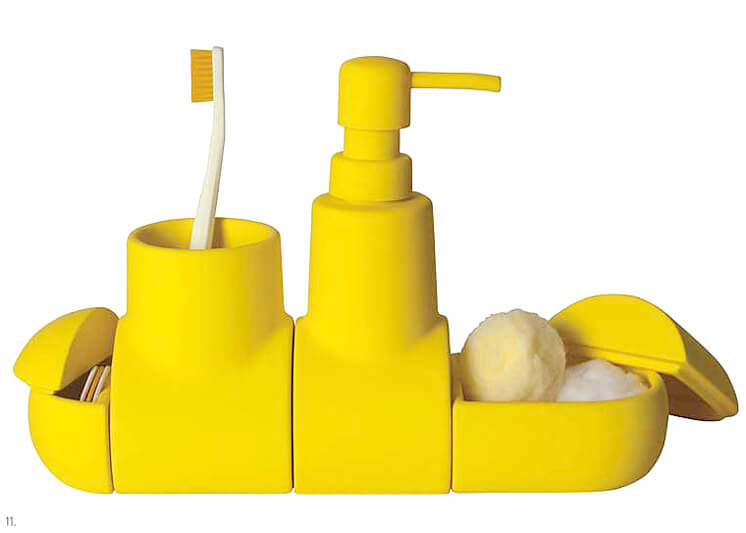 Littlest | Submarine Bathroom Accessories Set | Est Magazine