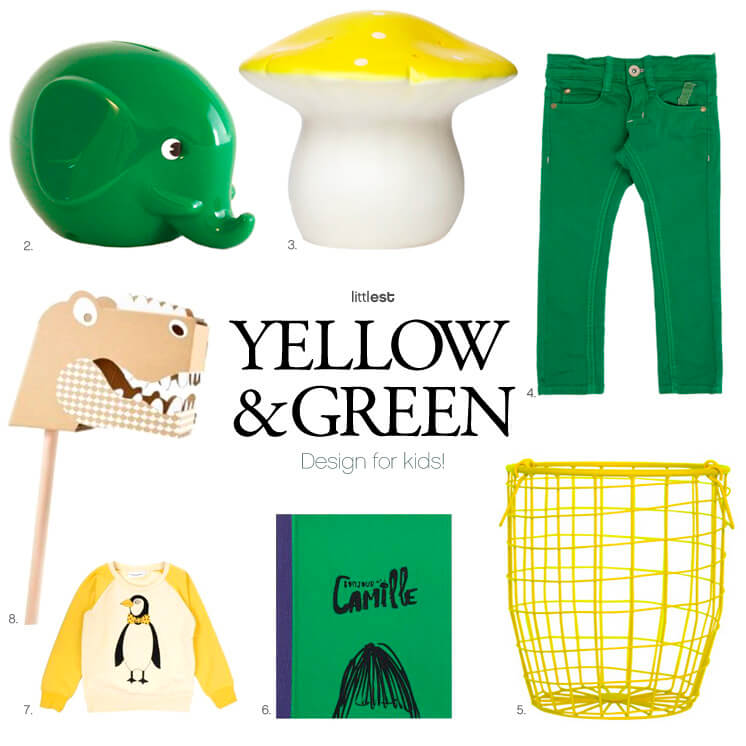 2.-8. Littest | Yellow and green for kids | Est Magazine
