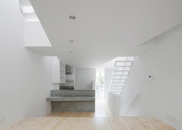 House in Tamatsu Kenji Architectural Studio | © Yohei Sasakura09 | Est Magazine