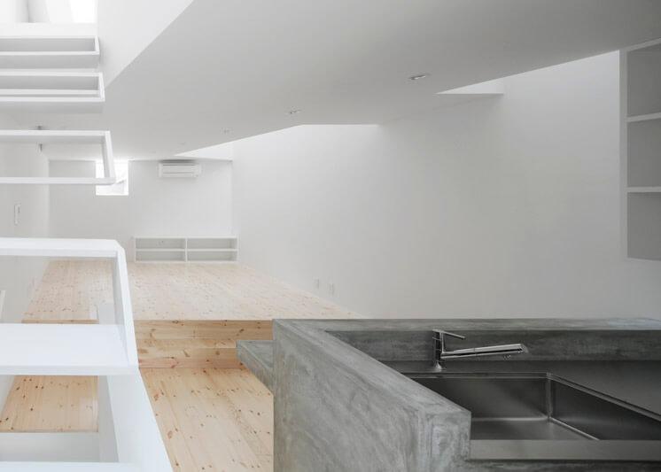 House in Tamatsu Kenji Architectural Studio | © Yohei Sasakura10 | Est Magazine