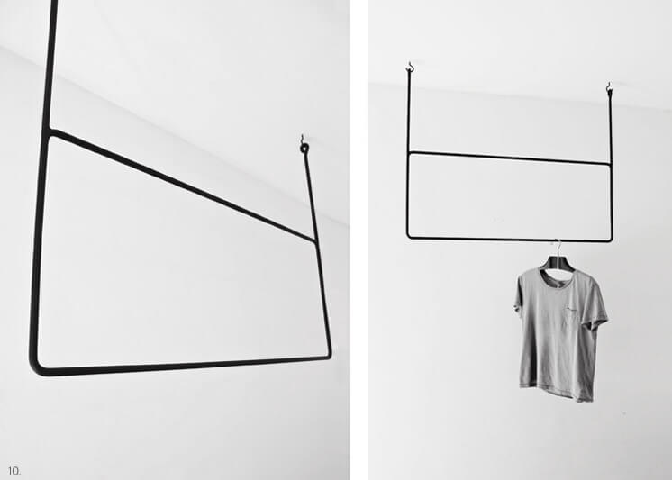 Clothing Rail Rectangular | Annaleena | Est Magazine