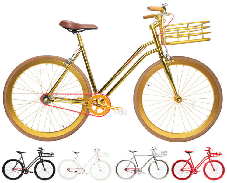 Martone Gold Womens Bicycle Est Magazine
