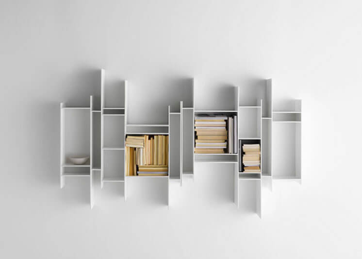 Randomito Shelves from MDF Italia designed by Neuland Industriedesign Est Magazine