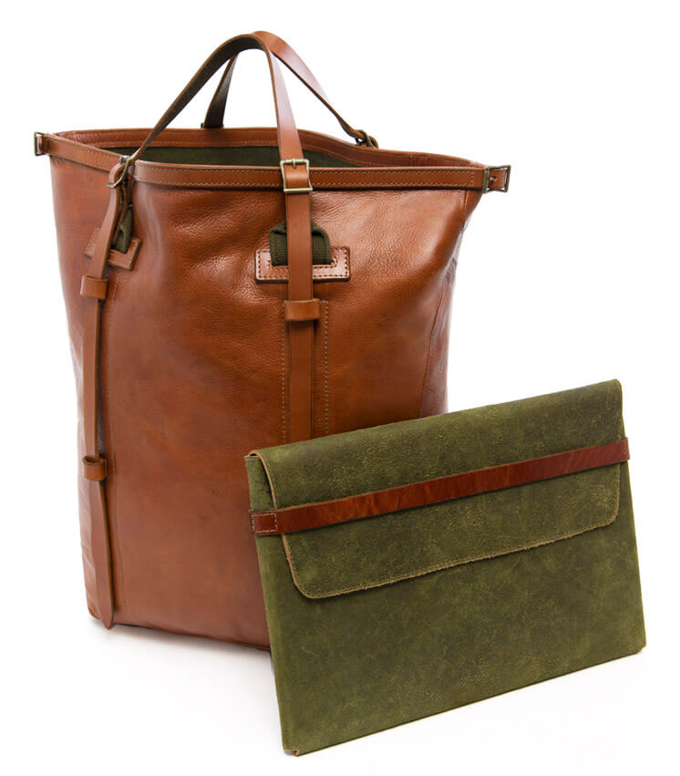 Stephen Kenn | The Encounter Collection | Bag and Document Case | Est Magazine