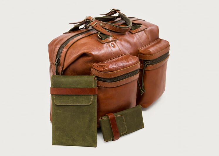Stephen Kenn | The Encounter Collection | Camera Bag iPad Case and Glasses Case | Est Magazine