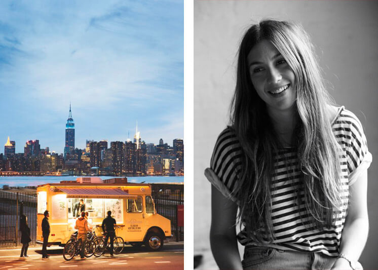 Laura O'Neill | Van Leeuwan Icecream Truck New York | Est Magazine
