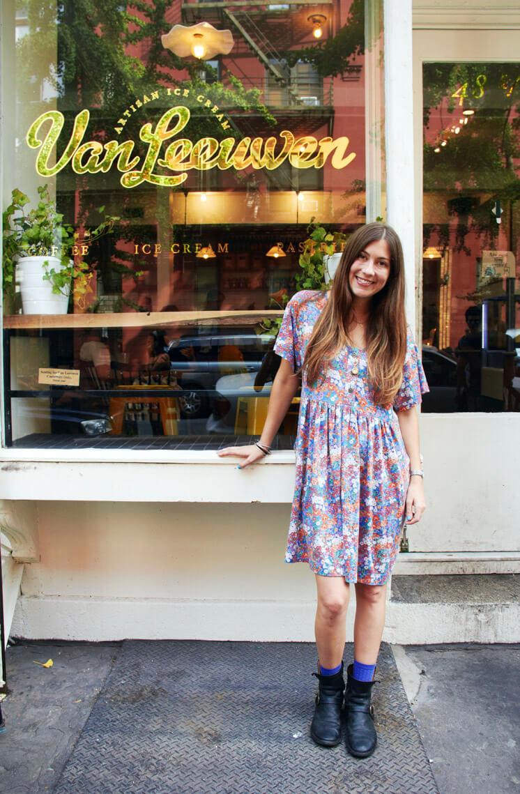 Laura O'Neill | Van Leeuwan Icecream | Est Magazine