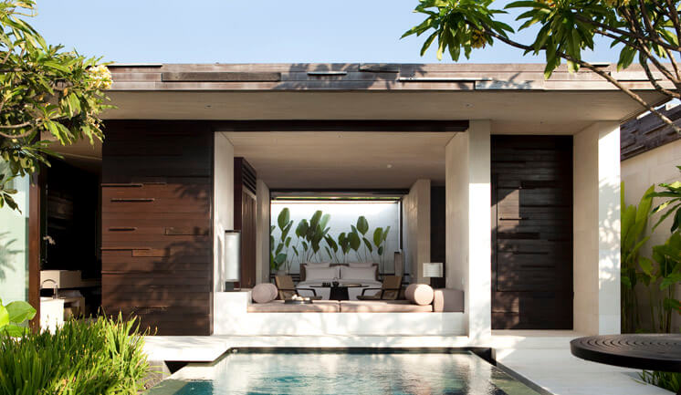 Alila Villas Uluwatu Bali | Cliffside Pool and Bedroom | Mr & Mrs Smith | Est Magazine
