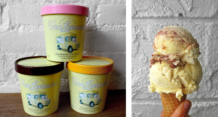 Laura O'Neill | Van Leeuwan Icecream Pints | Est Magazine