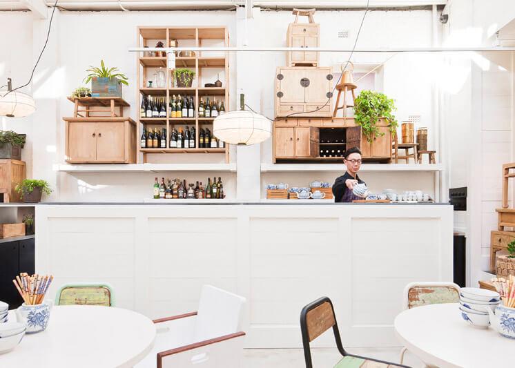 Davids Restaurant Melbourne Bar © Shannon McGrath Est Magazine