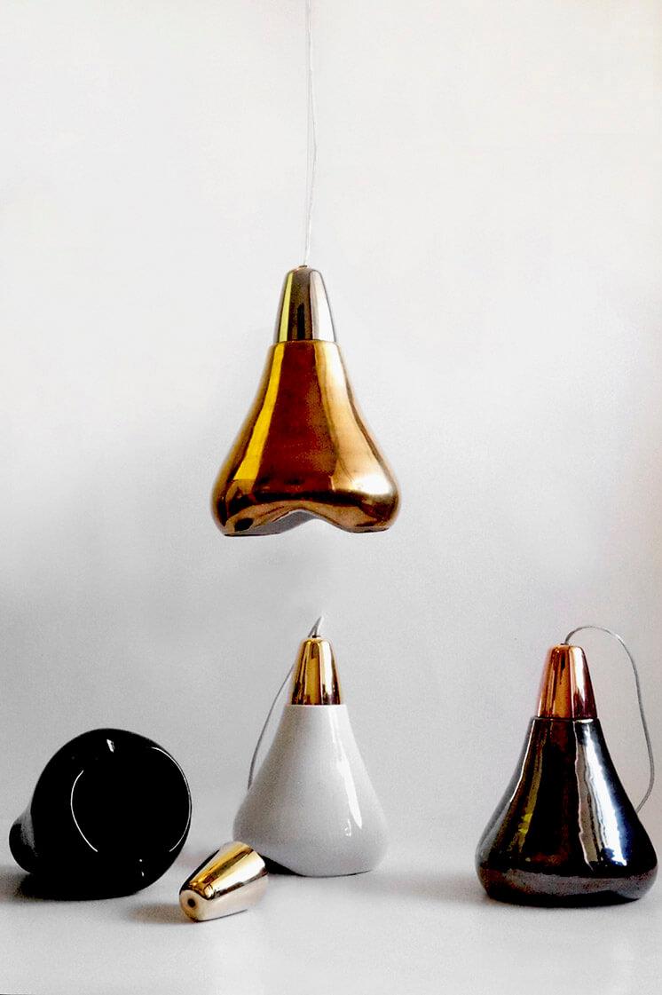 Abel Carcamo | Terracotta Lamp | Est Magazine