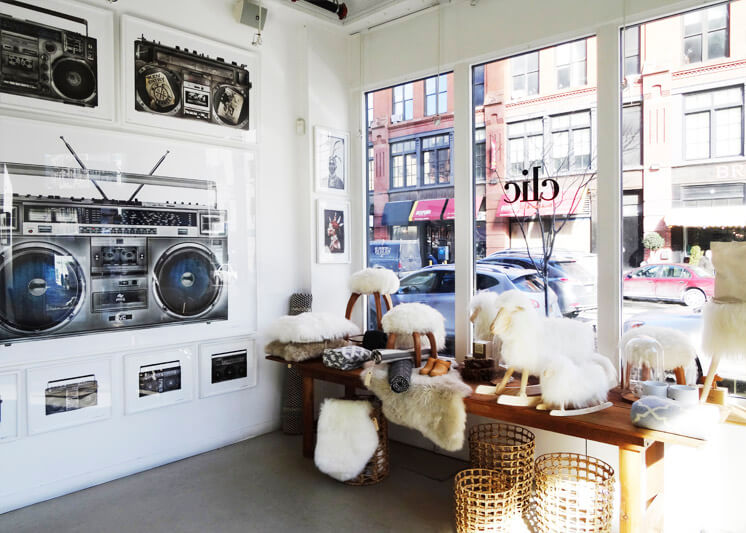 Clic Gallery General Store indow Est Magazine