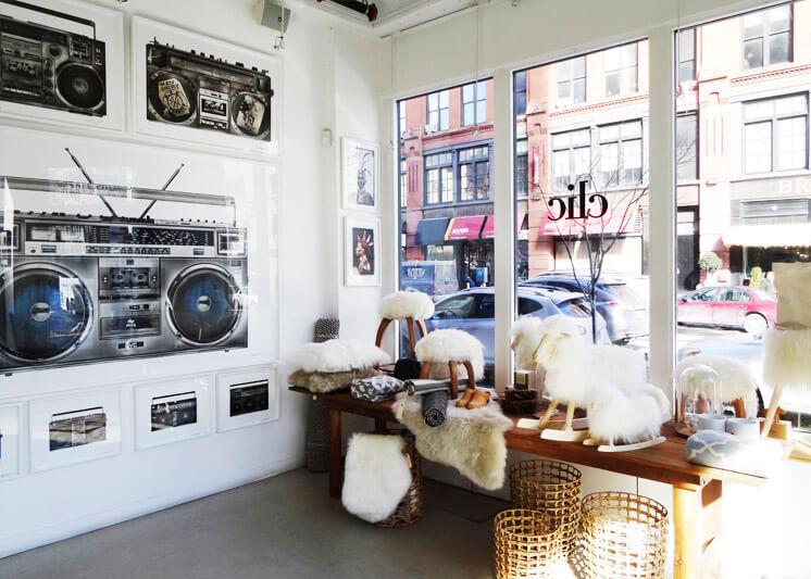 Clic Gallery | General Store indow | Est Magazine