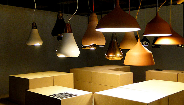 Abel Carcamo | Terracotta Lamp Exhibition | Est Magazine