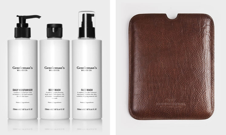 Gentleman's Brand Co The Daily Regime | Rodd and Gunn - Authentic Mini Tablet Sleeve | Est Magazine