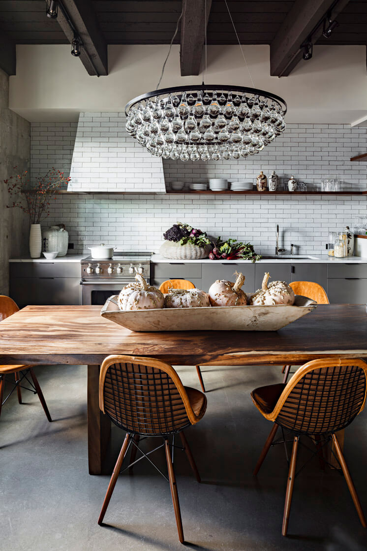 Jessica Helgerson Interior Design | Portland Loft Dining | © Lincoln Barbour 1 | Est Magazine