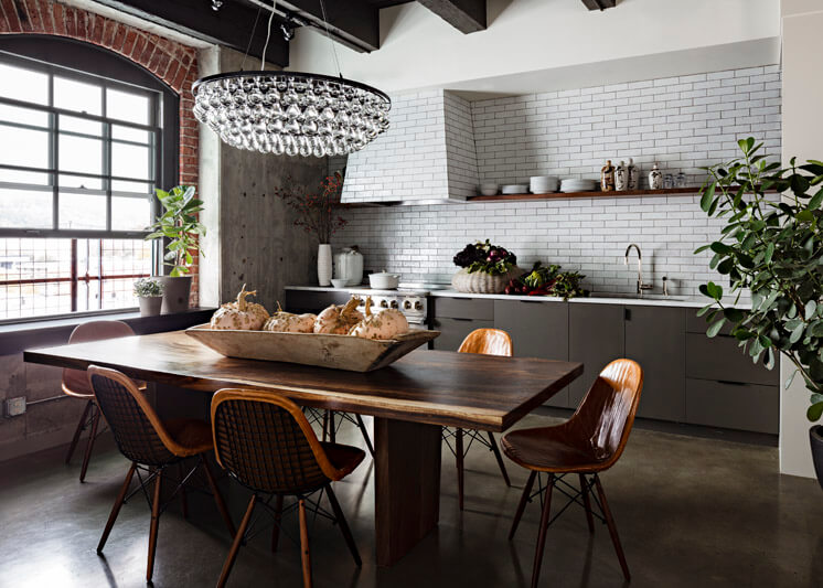 Jessica Helgerson Interior Design Portland Loft Kitchen © Lincoln Barbour Est Magazine