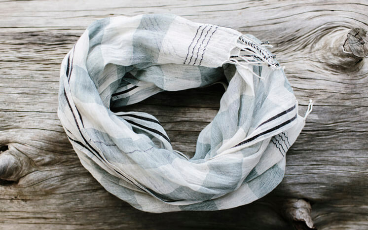 Laura Wortlock Once Was Lost Scarf Est Magazine