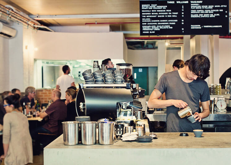 Barista The Three Williams Redfern Est Magazine