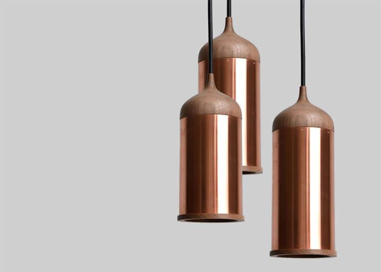 Copper and walnut lamp | Steven Banken The Method Case | Est Magazine