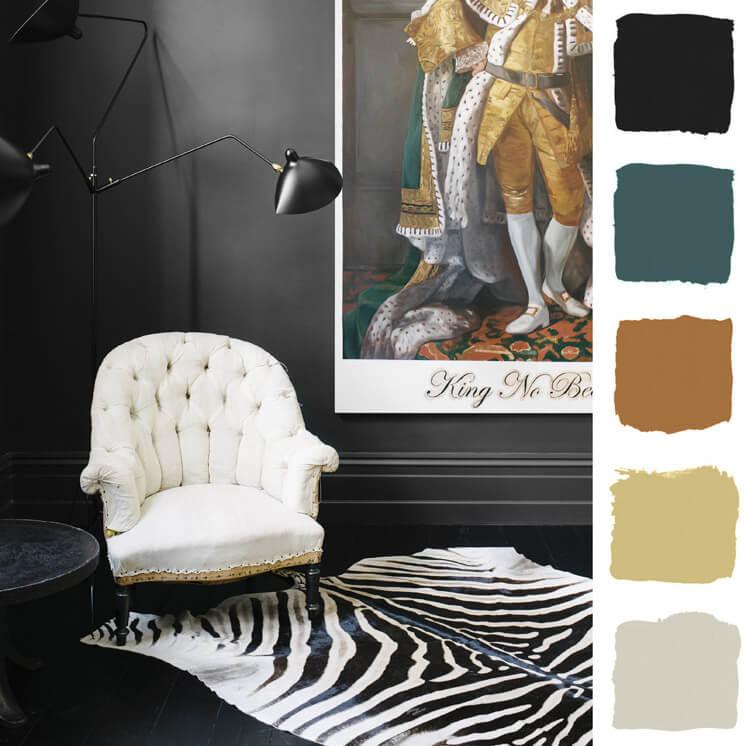 Living Room | Colour Chronicles Jane and Simon Hayman | Bauwerk Colour | © Brooke Holm | Est Magazine