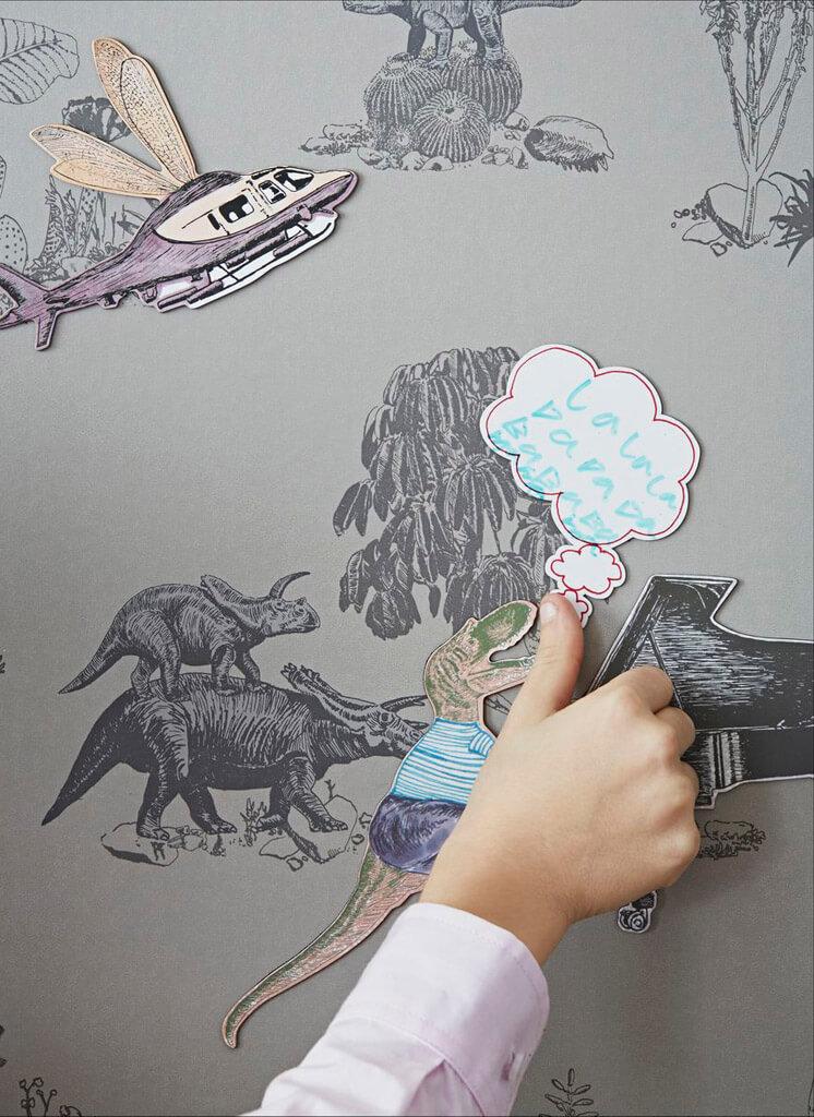 Singing Croc Magnetic Dino Wallpaper Sian Zeng | © Jon Day | Est Magazine