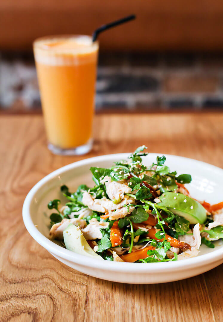 Spiced Carrot Salad with Citrus Dressing | The Three Williams Redfern | Est Magazine