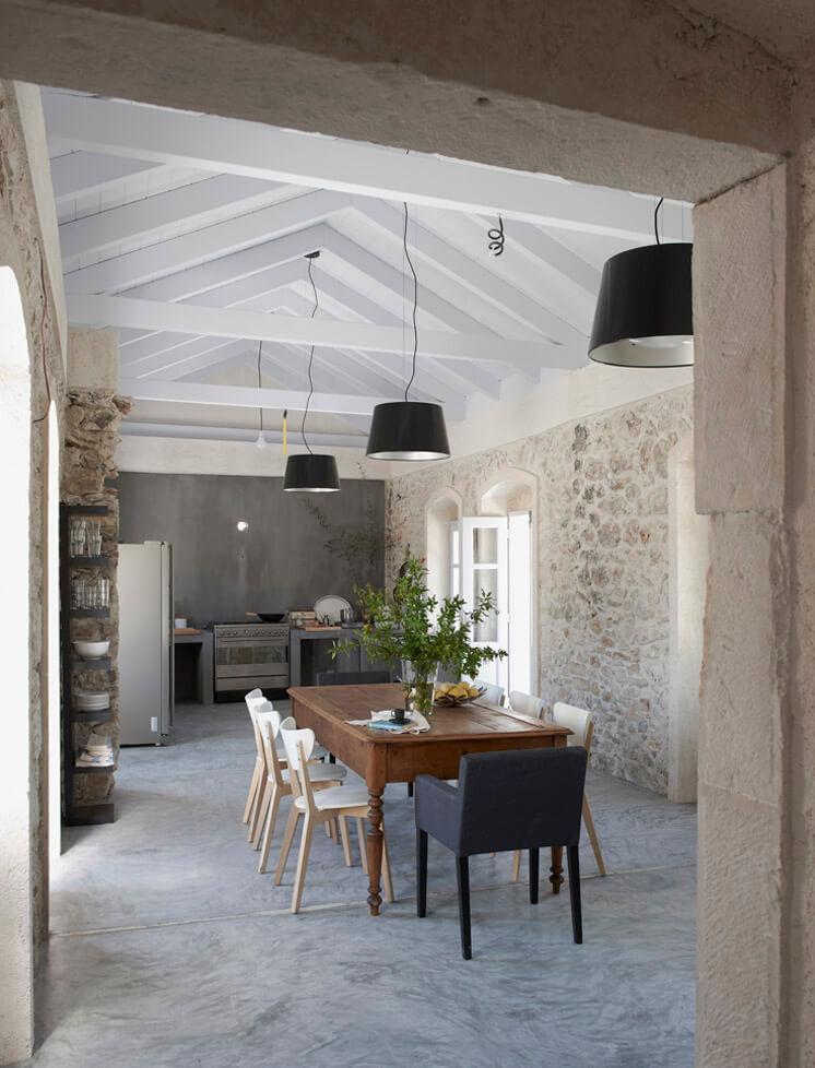 Living Room Villa Kalos Ithica Greece | © Robbert Koene | Est Magazine