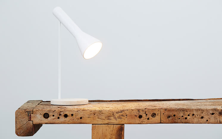 Est Bedside Table Lamps Forms No Figures Fou de Feu