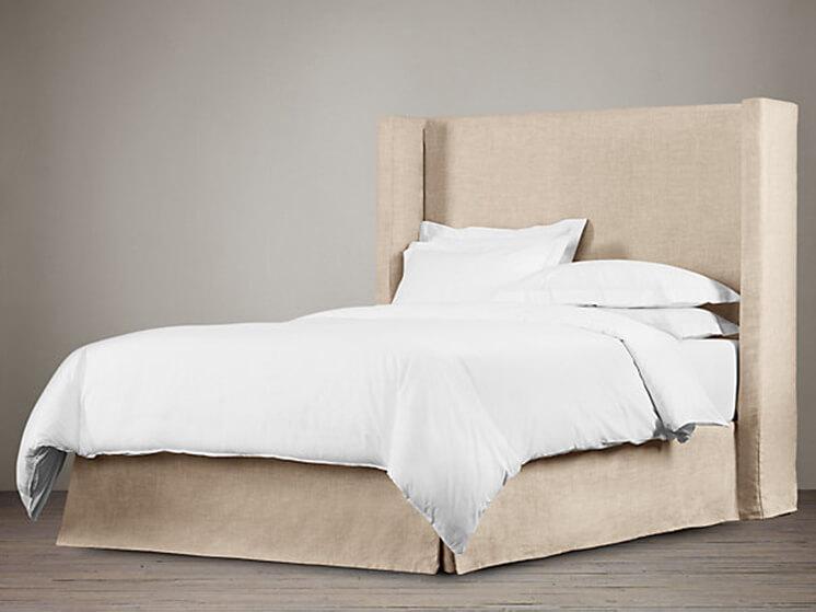 Est-Magazine-Restoration-Hardware-Belgian-Linen-Bedhead