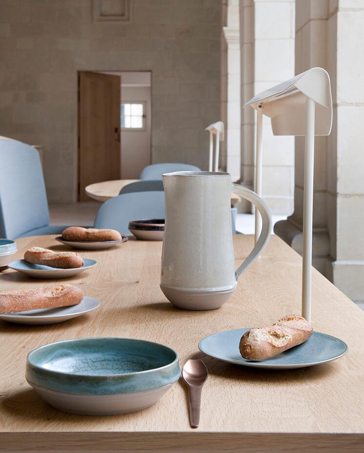 Est-Magazine-Abbaye-de-Fontevraud-table-setting-Nicolas-Matheus