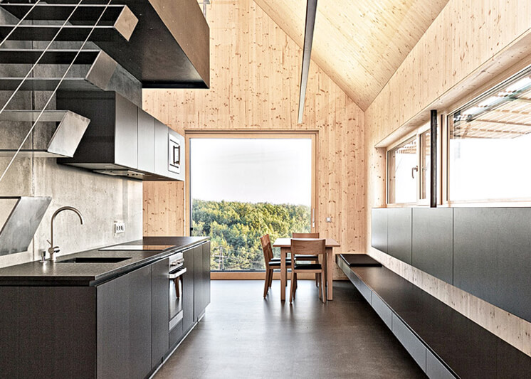 Kitchen: Summer House by Judith Benzer