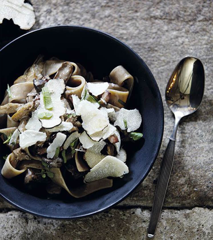 Est Magazine Mushroom Pasta image