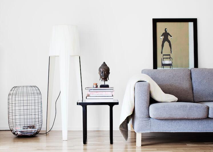 Est Magazine Copenhagen Helle Flour Interiors Fambuena Lamp Jacob Nielsen