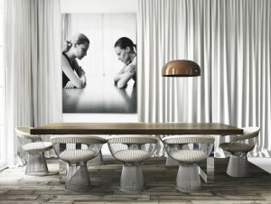 Dining: Barcelona Apartment by Katty Shiebeck