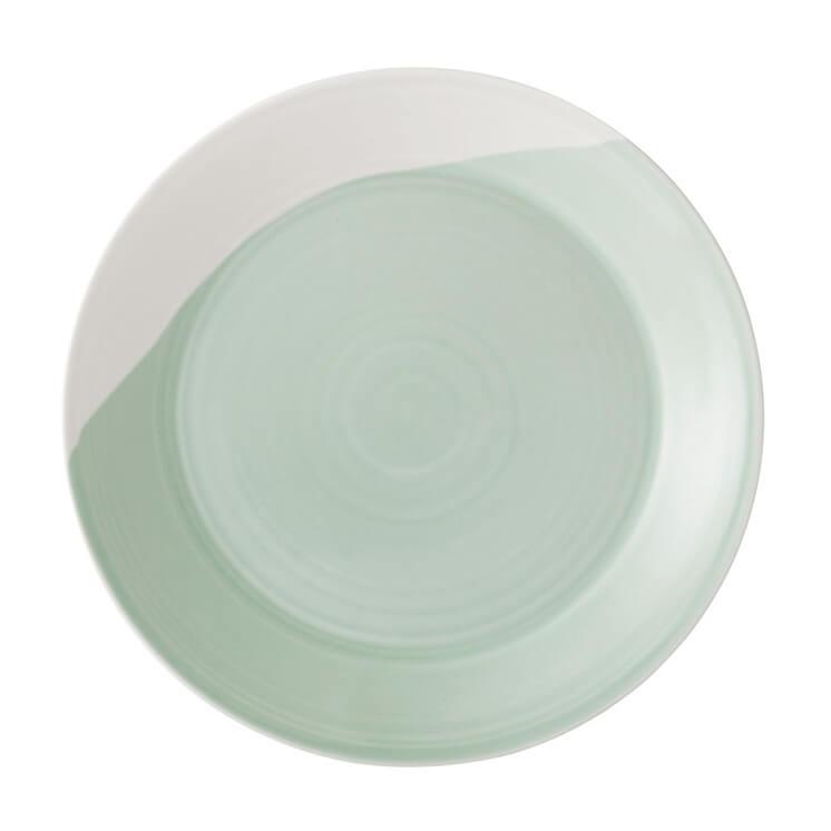 Est Magazine 1815 Green Plate