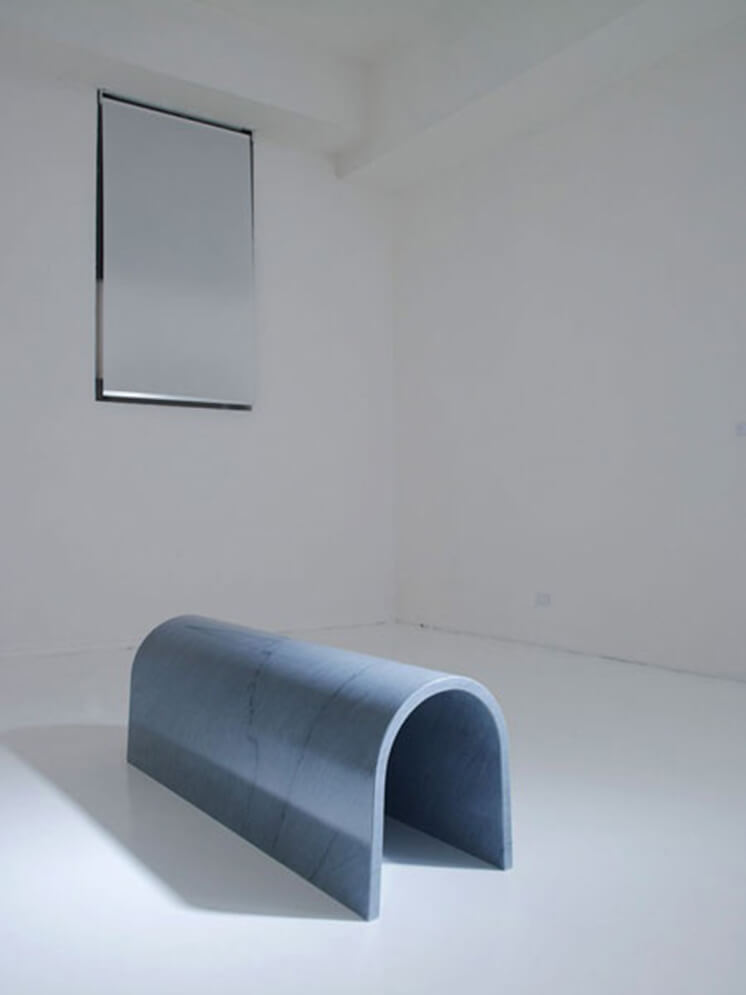 Est-Magazine-Dilmos Design, Milan_Ron Gilad_The Line, The Arch, The Circle & The Square 2012