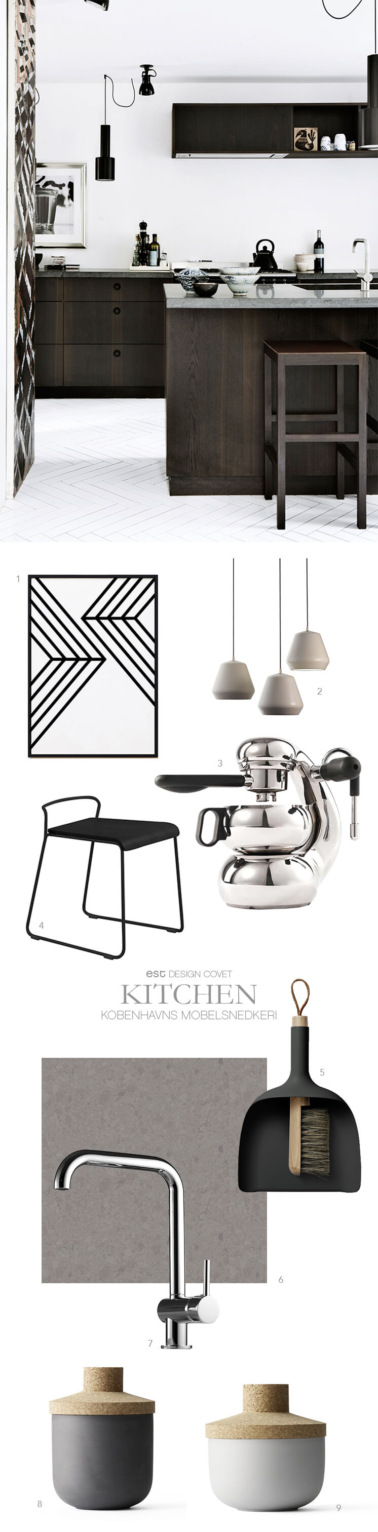 Est-Magazine-Kobenhavns Mobelsnedkeri Kitchen 'Get the look'