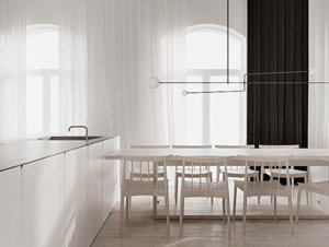 Warsaw Apartment by Tamizo Architects