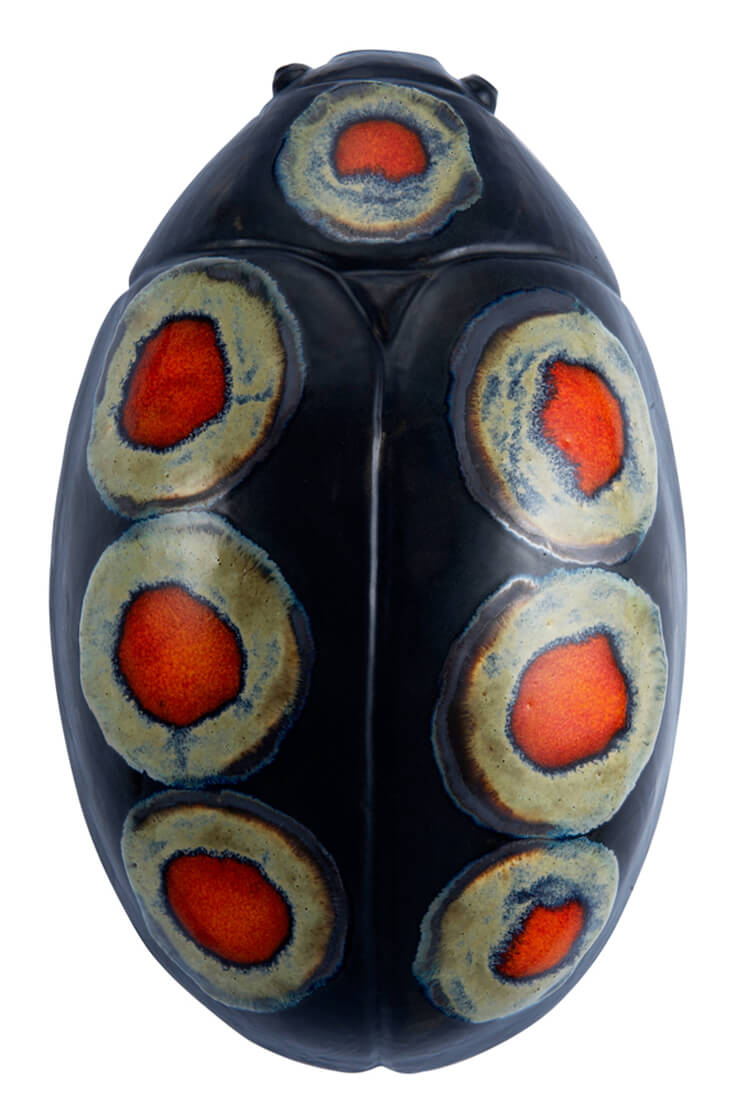Est Magazine Thomas Eyck Installation RaR Coccinela Ceramic Vase 2011