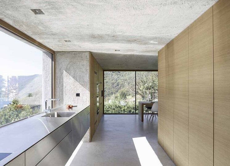 Kitchen: Lake House by Wespi de Meuron