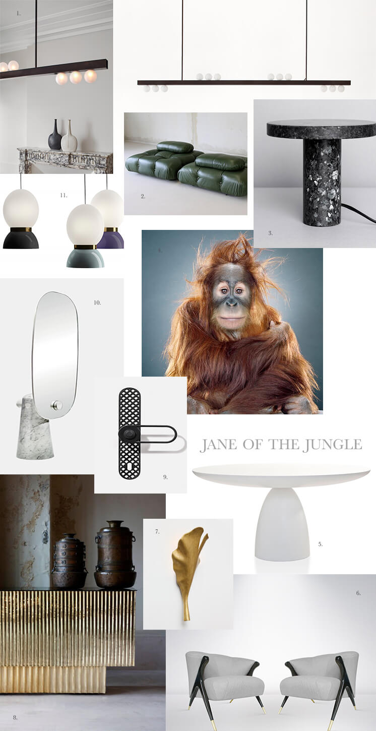 Est Magazine Jane Of The Jungle Decus Interiors