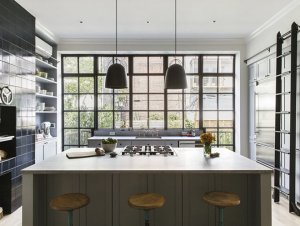 Kitchen: New York Brownstone by Elizabeth Roberts