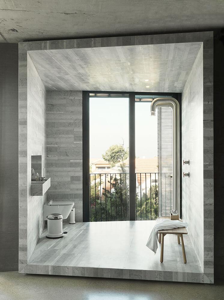 Est Magazine Tel Aviv Bathroom